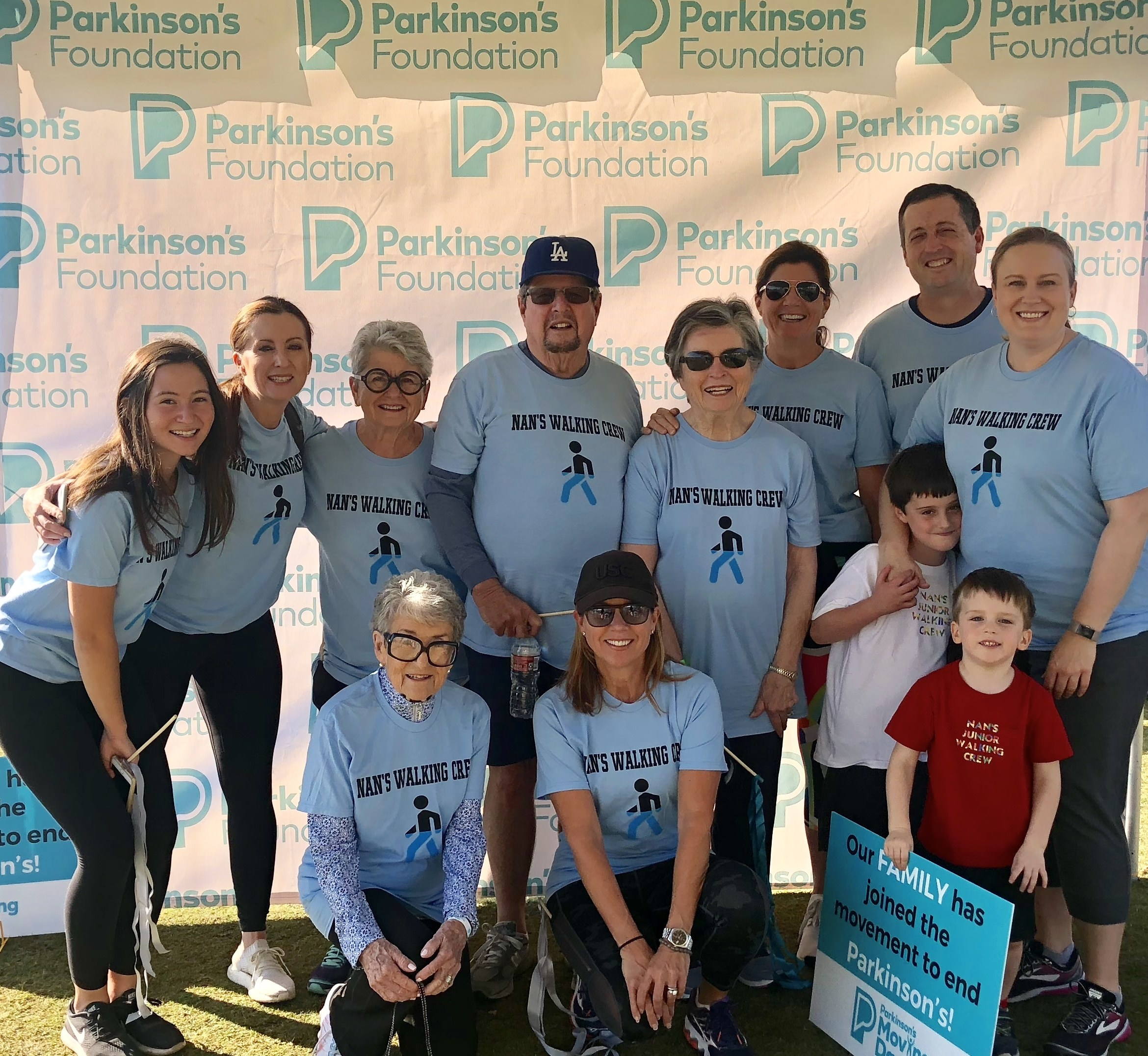 Moving Day:Parkinsons Foundation