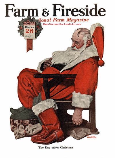 The morning after Norman-Rockwell