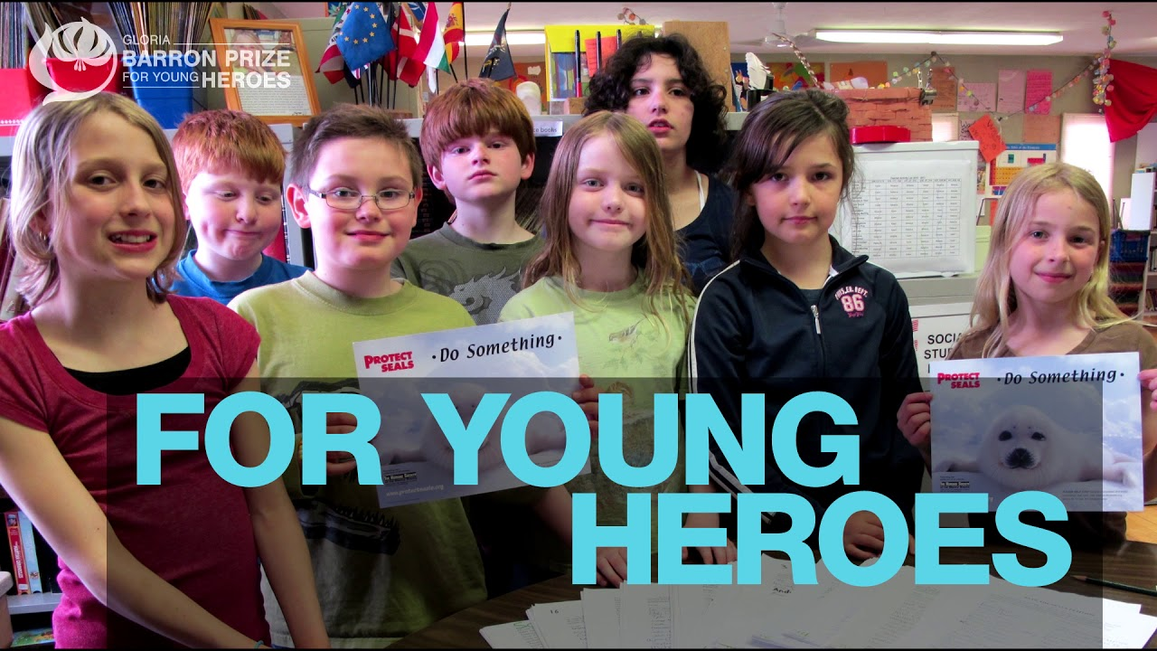 The Barron Prize for Young Heroes