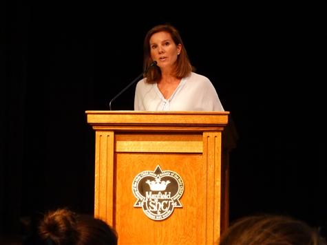 Speaking at MSS