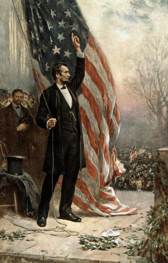 abraham-lincoln--american-flag-international-images
