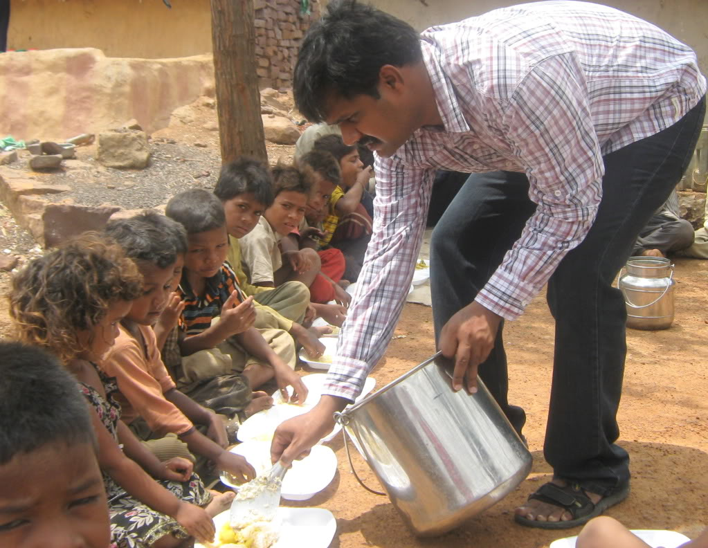 feeding the poor